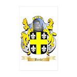 Banke Sticker (Rectangle 10 pk)