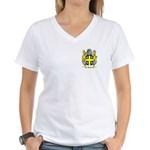 Bank Women's V-Neck T-Shirt