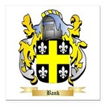 Bank Square Car Magnet 3