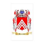 Banister Sticker (Rectangle 50 pk)