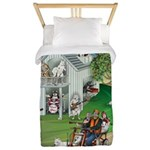 WooFHouse Illustration Twin Duvet