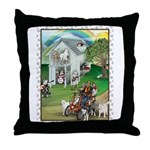 WooFHouse Illustration Throw Pillow