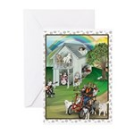 WooFHouse Illustration Greeting Cards (Pk of 20)