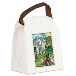 WooFHouse Illustration Canvas Lunch Bag