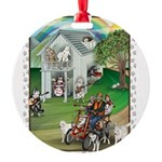 WooFHouse Illustration Ornament