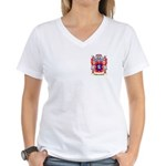 Banishevitz Women's V-Neck T-Shirt