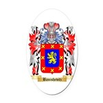 Banishevitz Oval Car Magnet