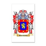 Banishevitz Rectangle Car Magnet