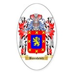 Banishevitz Sticker (Oval 50 pk)