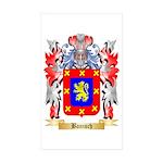Banisch Sticker (Rectangle 50 pk)
