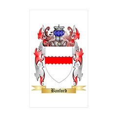 Banford Sticker (Rectangle 50 pk)