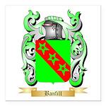Banfill Square Car Magnet 3
