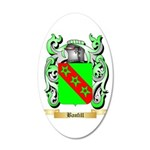Banfill 20x12 Oval Wall Decal
