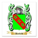 Banfield Square Car Magnet 3