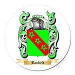 Banfield Round Car Magnet