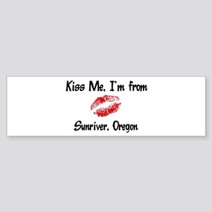 Sunriver - Kiss Me Bumper Sticker