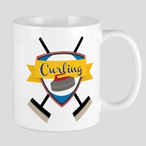 Curling Logo Mug
