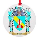 Bandt Round Ornament