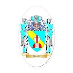 Bandt Oval Car Magnet