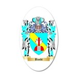 Bandt 35x21 Oval Wall Decal