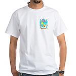 Bandner White T-Shirt