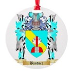 Bandner Round Ornament