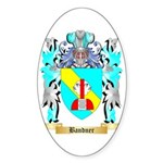 Bandner Sticker (Oval 50 pk)