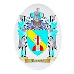 Bandner Ornament (Oval)