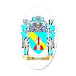 Bandmann Oval Car Magnet