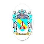 Bandman Oval Car Magnet