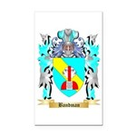 Bandman Rectangle Car Magnet