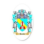 Bandle Oval Car Magnet