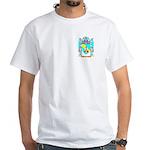 Bandelman White T-Shirt