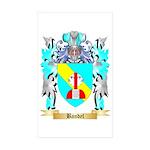 Bandel Sticker (Rectangle 50 pk)