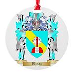 Banda Round Ornament