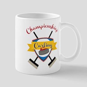 Championship Curling Mug