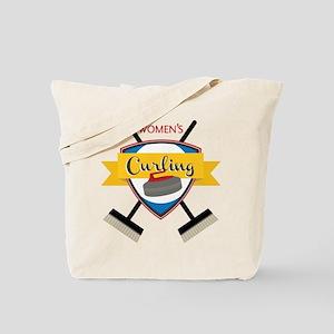 Women's Curling Tote Bag