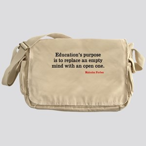 Education Messenger Bag