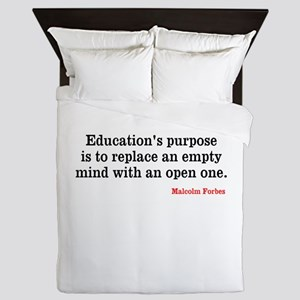 Education Queen Duvet