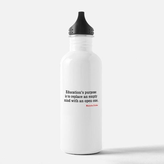 Education Water Bottle