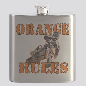 Orange Rules Flask