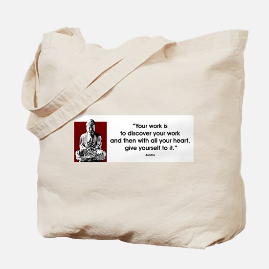 Your work... Tote Bag