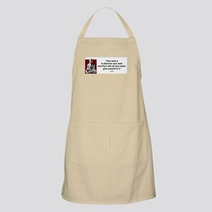 Your work... BBQ Apron