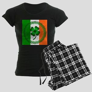 Flag and Clover Women's Dark Pajamas