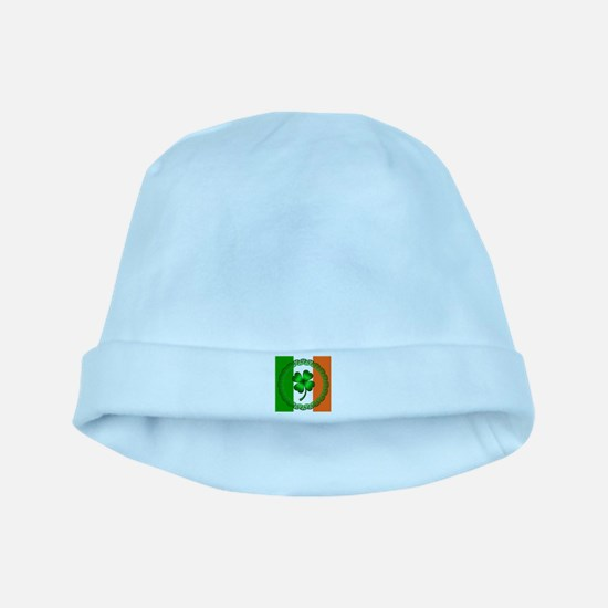 Flag and Clover baby hat