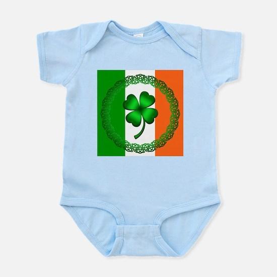 Flag and Clover Infant Bodysuit