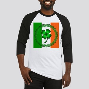 Flag and Clover Baseball Jersey