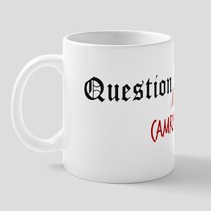 Question Camryn Authority Mug