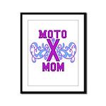 MotocrossMom Framed Panel Print