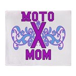 MotocrossMom Throw Blanket